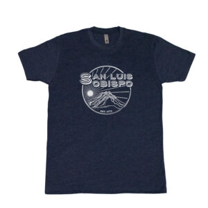 Bishops Peak SLO Mens Midnight Navy Tee